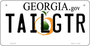 Tailgtr Georgia Wholesale Novelty Metal Bicycle Plate BP-3675
