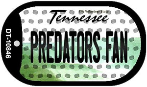 Predators Fan Tennessee Wholesale Novelty Metal Dog Tag Necklace DT-10846