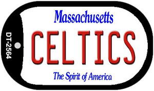 Celtics Massachusetts Wholesale Novelty Metal Dog Tag Necklace DT-2564
