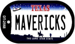 Mavericks Texas Wholesale Novelty Metal Dog Tag Necklace DT-2568