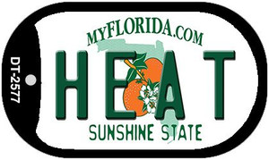 Heat Florida Wholesale Novelty Metal Dog Tag Necklace DT-2577