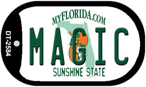Magic Florida Wholesale Novelty Metal Dog Tag Necklace DT-2584