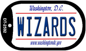 Wizards Washington DC Wholesale Novelty Metal Dog Tag Necklace DT-2592