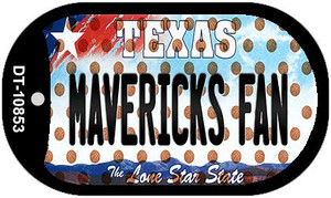 Mavericks Fan Texas Wholesale Novelty Metal Dog Tag Necklace DT-10853