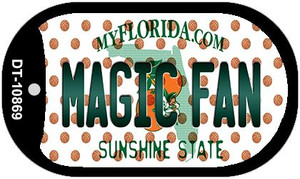 Magic Fan Florida Wholesale Novelty Metal Dog Tag Necklace DT-10869