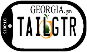 Tailgtr Georgia Wholesale Novelty Metal Dog Tag Necklace DT-3675