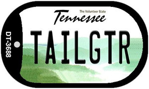 Tailgtr Tennessee Wholesale Novelty Metal Dog Tag Necklace DT-3688