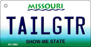 Tailgtr Missouri Wholesale Novelty Metal Key Chain KC-3683