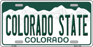 Colorado State Wholesale Novelty Metal License Plate LP-12681