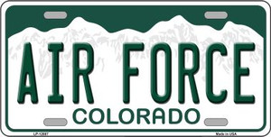Air Force Wholesale Novelty Metal License Plate LP-12687