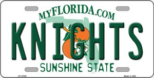 Knights Wholesale Novelty Metal License Plate LP-12702
