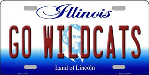 Go Wildcats Wholesale Novelty Metal License Plate LP-12749