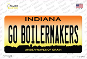 Go Boilermakers Wholesale Novelty Sticker Decal