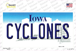 Cyclones Wholesale Novelty Sticker Decal