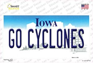 Go Cyclones Wholesale Novelty Sticker Decal