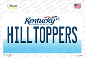 Hilltoppers Wholesale Novelty Sticker Decal
