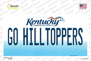 Go Hilltoppers Wholesale Novelty Sticker Decal