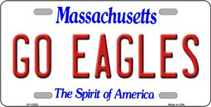 Go Eagles Wholesale Novelty Metal License Plate LP-12825
