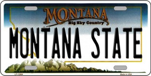 Montana State Wholesale Novelty Metal License Plate LP-12864