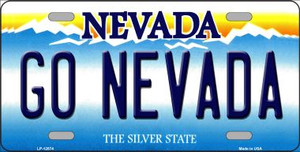 Go Nevada Wholesale Novelty Metal License Plate LP-12874