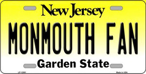 Monmouth Fan Wholesale Novelty Metal License Plate LP-12881