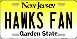 Hawks Fan Wholesale Novelty Metal License Plate LP-12884