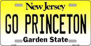 Go Princeton Wholesale Novelty Metal License Plate LP-12885
