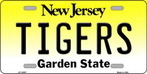Tigers Wholesale Novelty Metal License Plate LP-12887