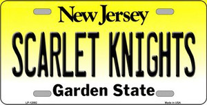 Scarlet Knights Wholesale Novelty Metal License Plate LP-12892