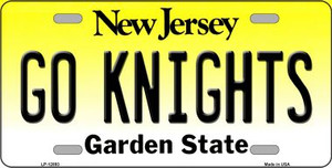 Go Knights Wholesale Novelty Metal License Plate LP-12893