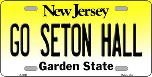 Go Seton Hall Wholesale Novelty Metal License Plate LP-12896