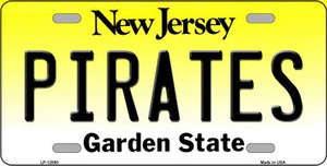 Pirates Wholesale Novelty Metal License Plate LP-12898