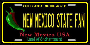 New Mexico State Fan Wholesale Novelty Metal License Plate LP-12908