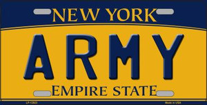 Army Wholesale Novelty Metal License Plate LP-12923