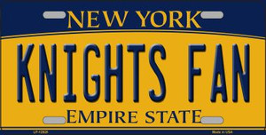Black Knights Fan Wholesale Novelty Metal License Plate LP-12928