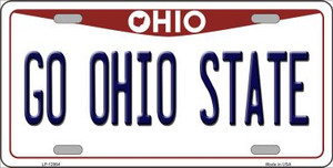 Go Ohio State Wholesale Novelty Metal License Plate LP-12964