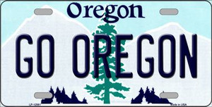 Go Oregon Wholesale Novelty Metal License Plate LP-12981
