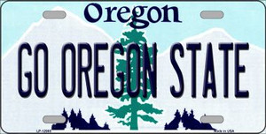 Go Oregon State Wholesale Novelty Metal License Plate LP-12985