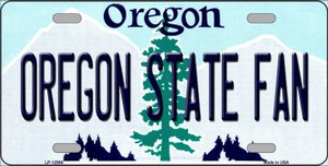 Oregon State Fan Wholesale Novelty Metal License Plate LP-12986