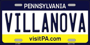 Villanova Wholesale Novelty Metal License Plate LP-13003