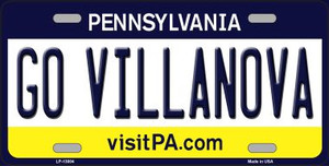 Go Villanova Wholesale Novelty Metal License Plate LP-13004