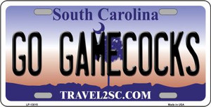 Go Gamecocks  Wholesale Novelty Metal License Plate LP-13015