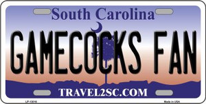 Gamecocks Fan Wholesale Novelty Metal License Plate LP-13016