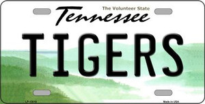 Tigers Wholesale Novelty Metal License Plate LP-13019