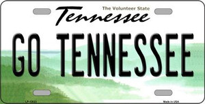 Go Tennessee Wholesale Novelty Metal License Plate LP-13023