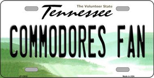 Commodores Fan Wholesale Novelty Metal License Plate LP-13032