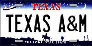 Texas A&M Wholesale Novelty Metal License Plate LP-13043