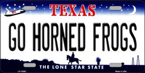 Go Horned Frogs Wholesale Novelty Metal License Plate LP-13053