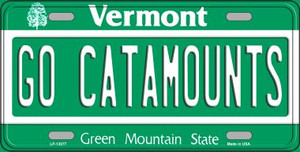 Go Catamounts Wholesale Novelty Metal License Plate LP-13077
