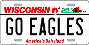 Go Eagles Wholesale Novelty Metal License Plate LP-13118